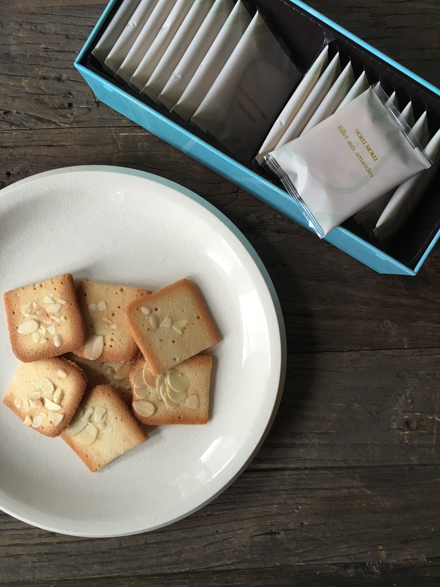 Yoku Moku Cookies - Billet Aux Amandes - rikumo japan made