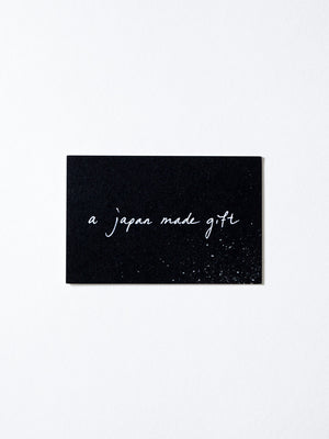 Physical Gift Card - rikumo japan made