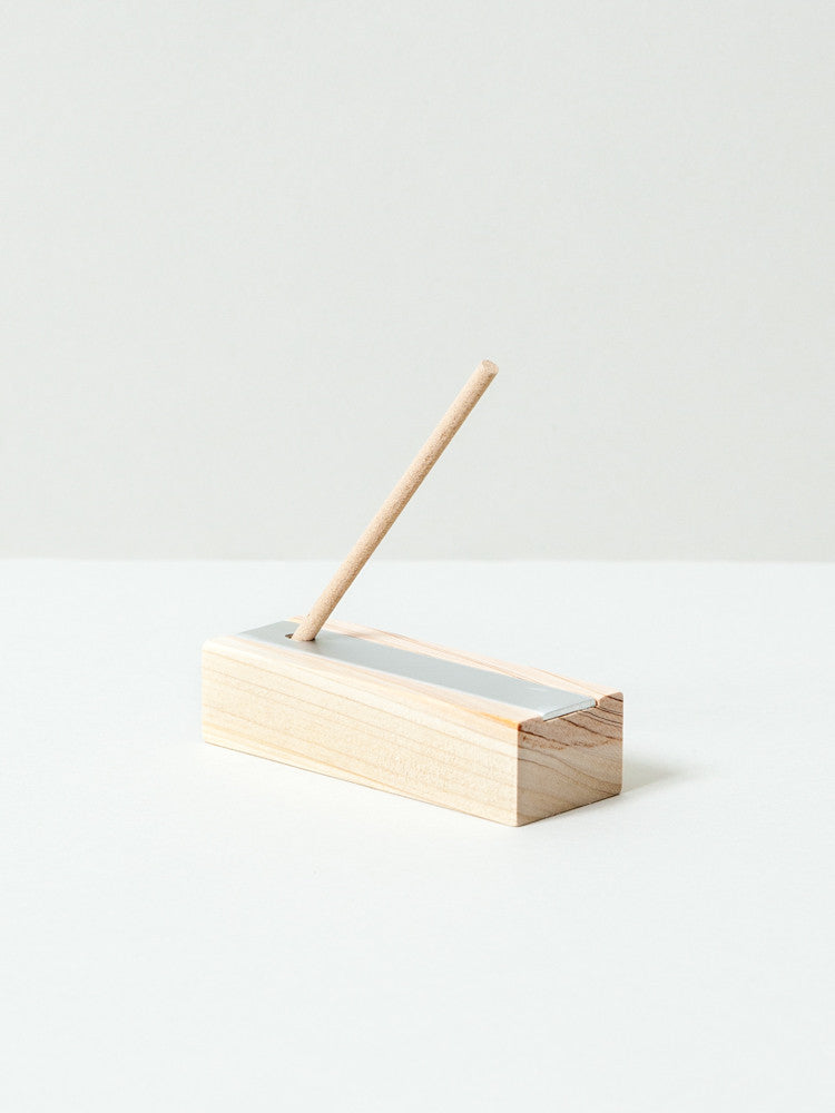 Hinoki Natural Incense - rikumo japan made