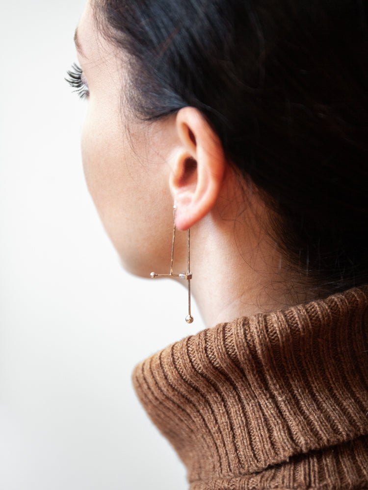 SUNn On-Off Earring