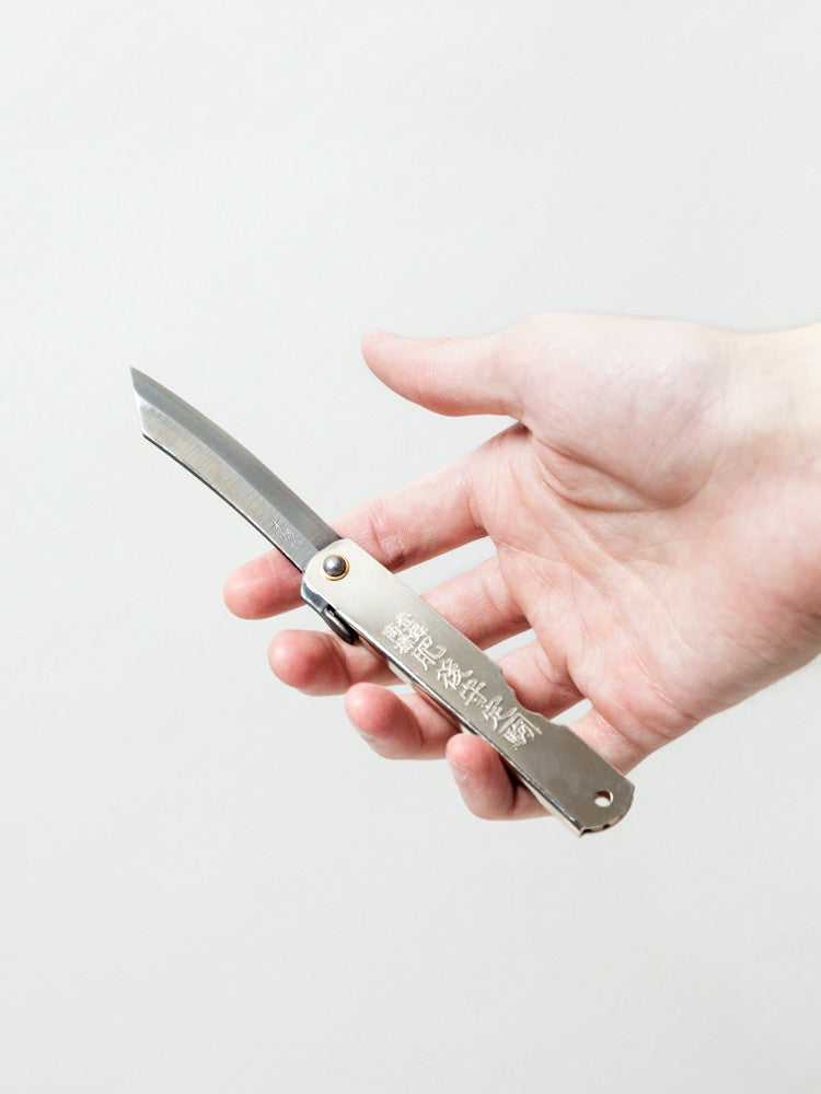 Higonokami Folding Knife - rikumo japan made