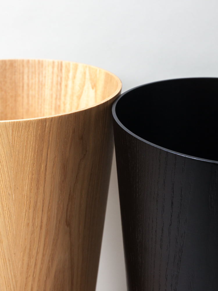 Saito Wooden Wastebasket - rikumo japan made
