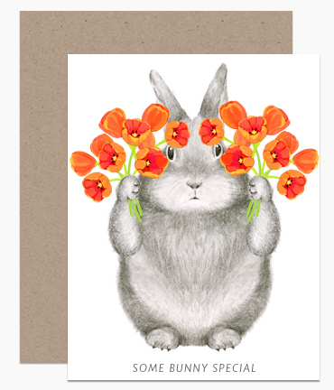 Greeting Card - Some Bunny Special