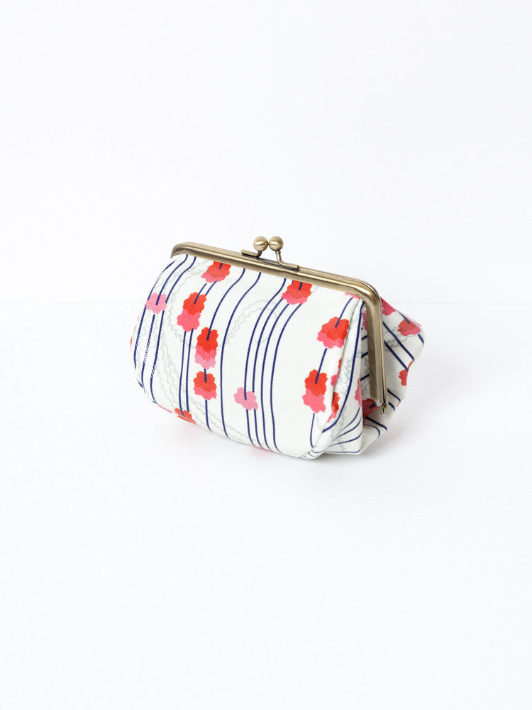 Cosmetic Bag - Shidare Sakura White