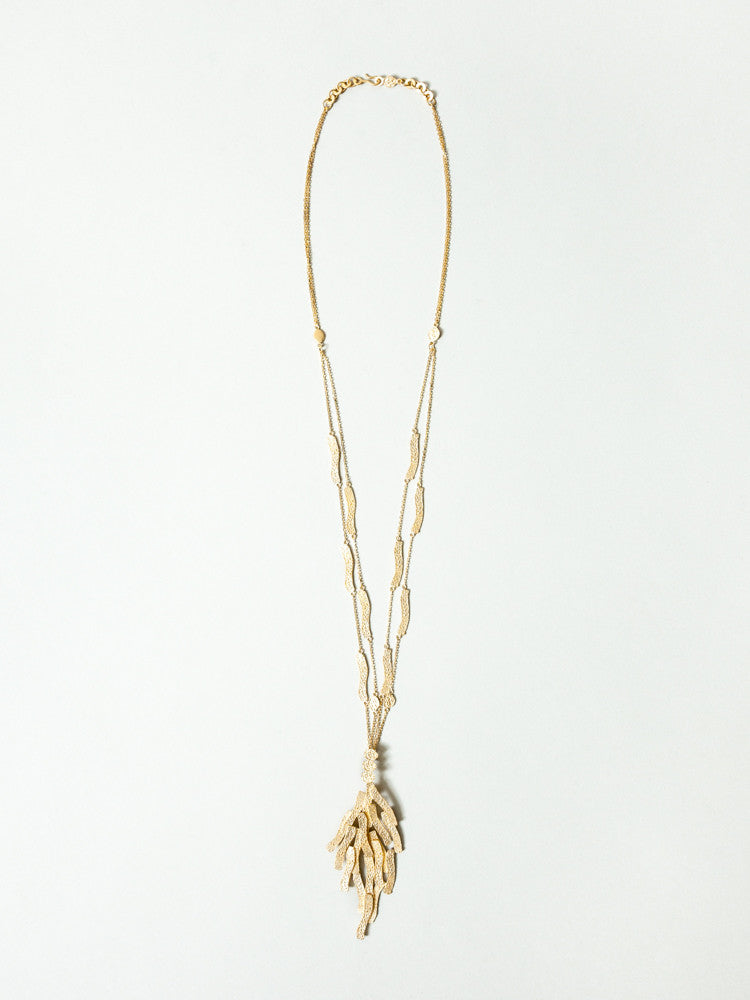 Okamoto Golden Reef Necklace - rikumo japan made