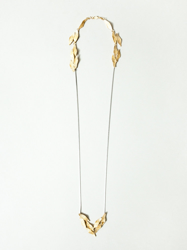 Okamoto Golden Spring Necklace - rikumo japan made