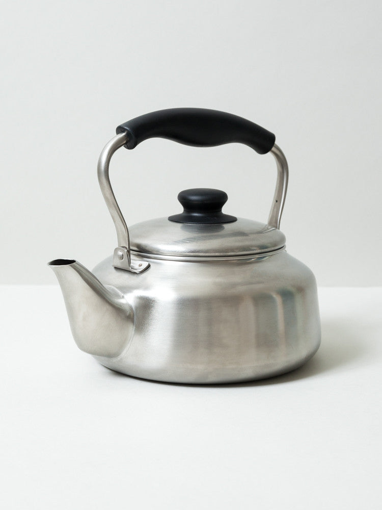 Sori Yanagi Stainless Steel Tea Kettle - rikumo japan made