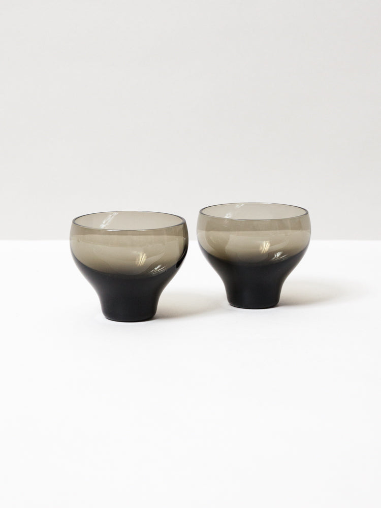 Glass Sake Carafe and Choco Set - Carbon