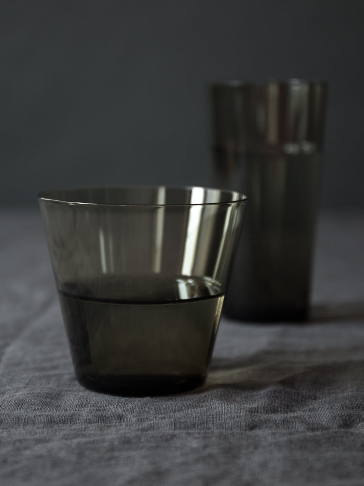 Glass Tumbler - Carbon