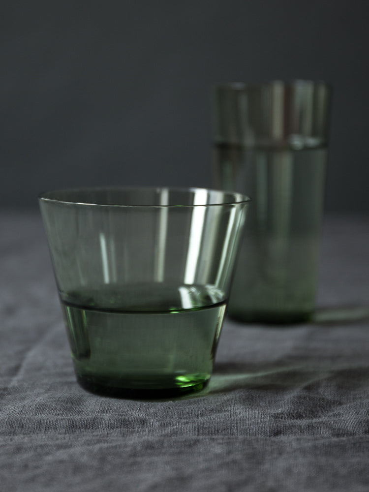 Glass Tumbler - Sage Green