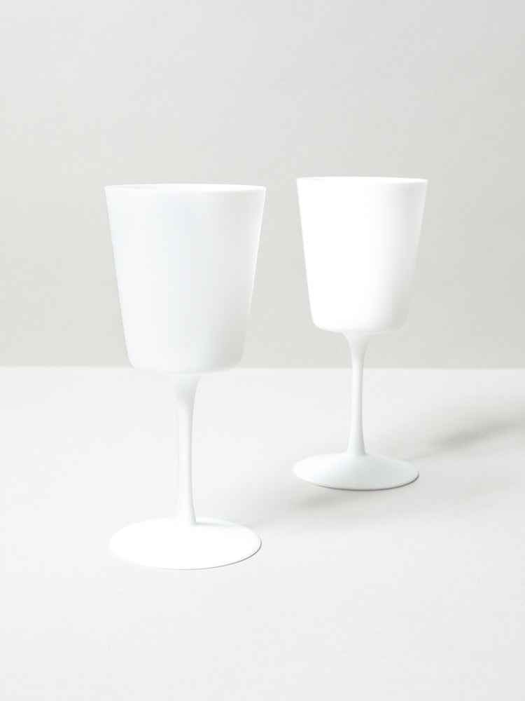Matte Wine Glass - rikumo japan made