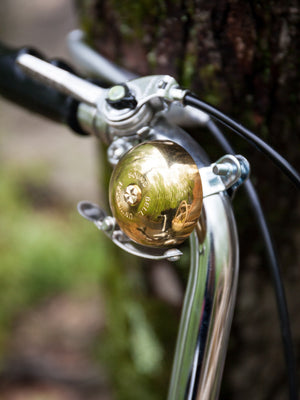 Brass Bicycle Bell - rikumo japan made