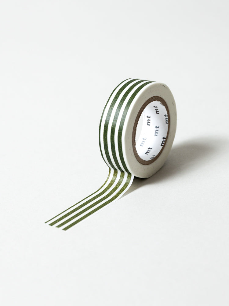 MT Washi Tape - Border Olive