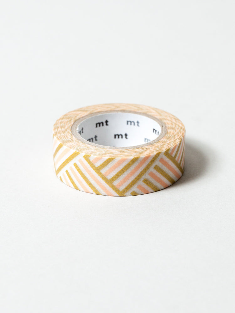MT Washi Tape - Corner Peach