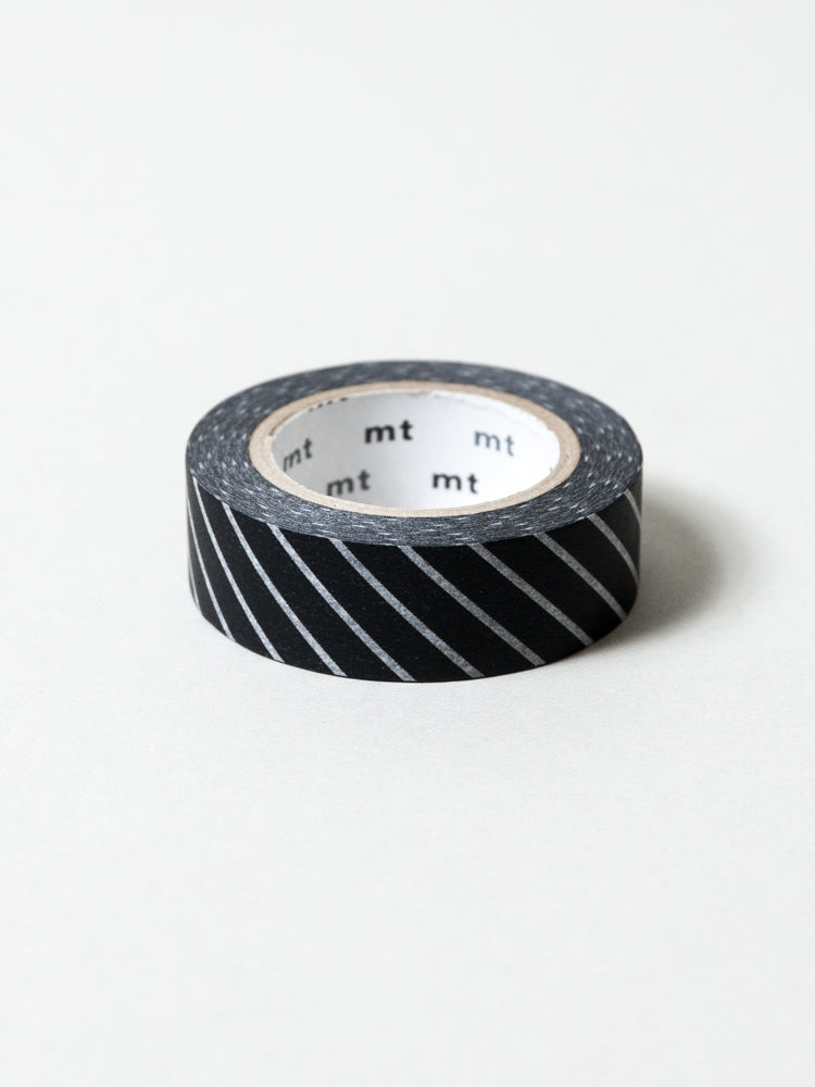MT Washi Tape - Stripe Black