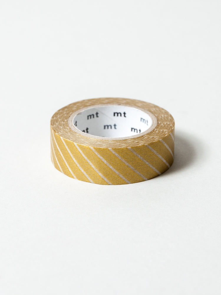 MT Washi Tape - Stripe Gold