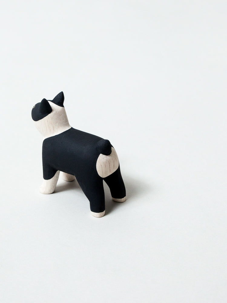 Wooden Animal - Boston Terrier