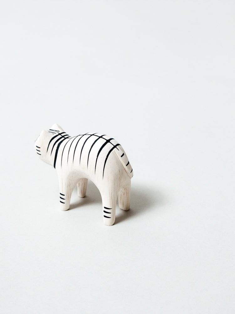 Wooden Animal - Tiger Cat