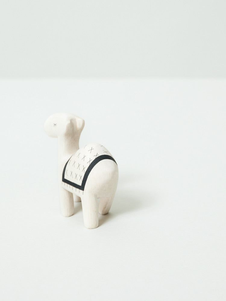 Wooden Animal - Camel - rikumo japan made