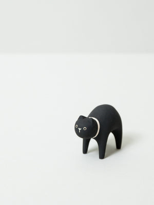 Wooden Animal - Cat - rikumo japan made