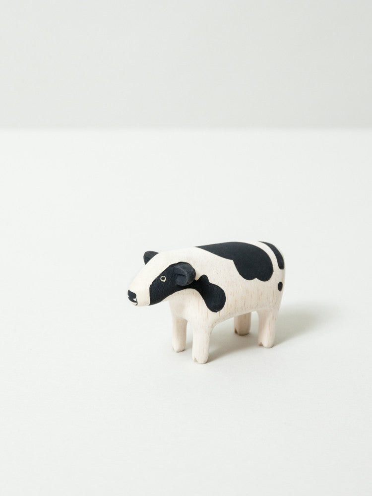 Wooden Animal - Cow - rikumo japan made