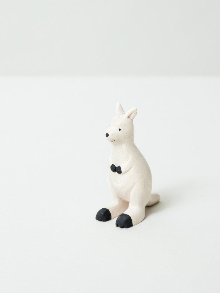 Wooden Animal - Kangaroo - rikumo japan made