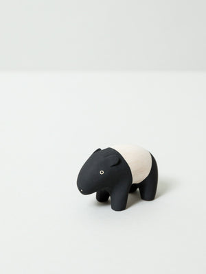 Wooden Animal - Malayan Tapir - rikumo japan made