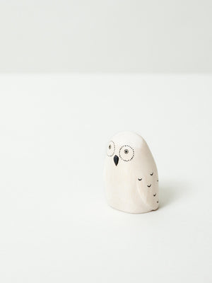 Wooden Animal - Owl - rikumo japan made