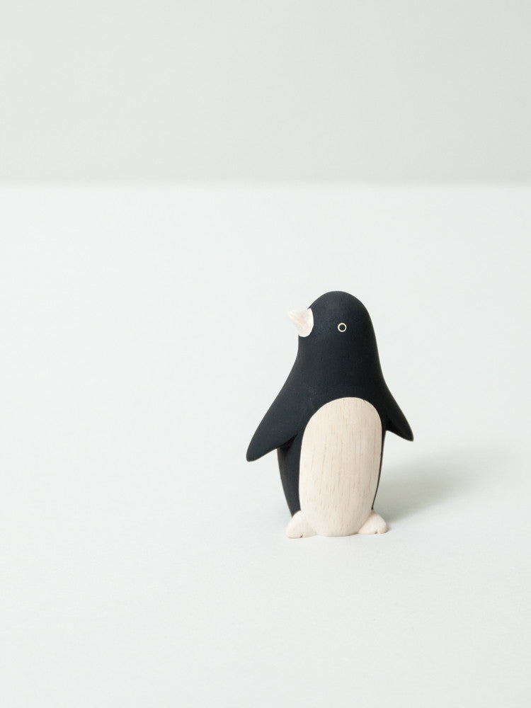 Wooden Animal - Penguin - rikumo japan made