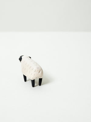 Wooden Animal - Sheep - rikumo japan made