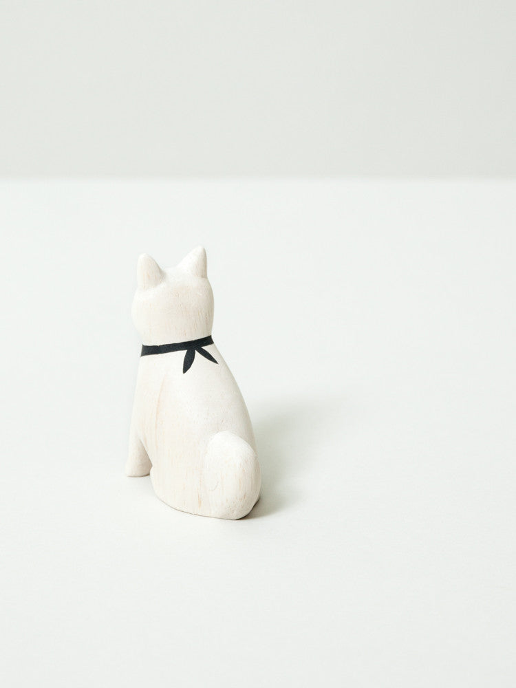 Wooden Animal - Akita Dog
