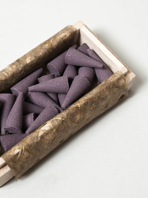 Japan Dry Garden Incense Cone, Box of 21