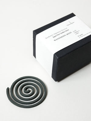 Japan Dry Garden Spiral Incense, Box of 10