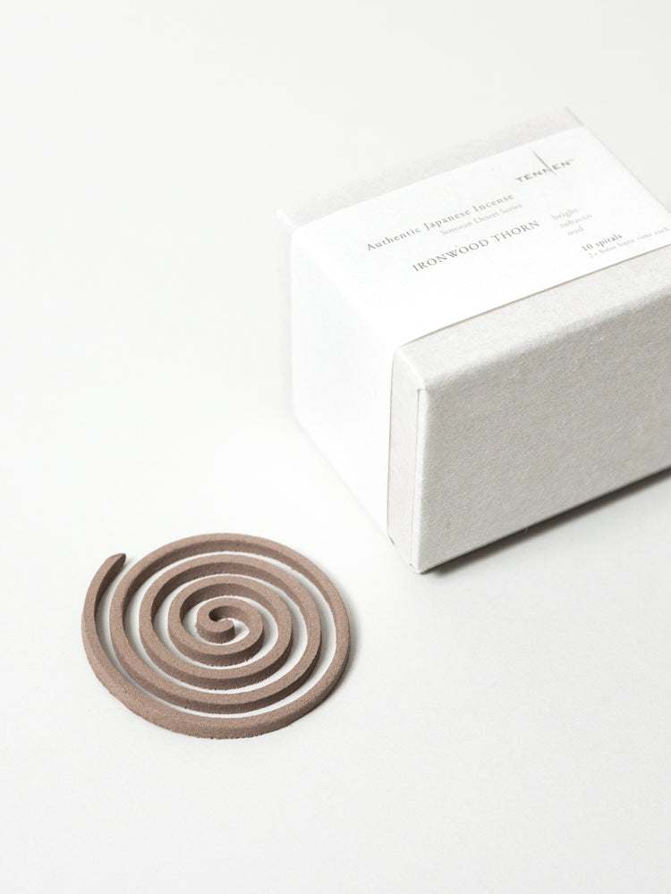 Sonoran Desert Spiral Incense, Box of 10