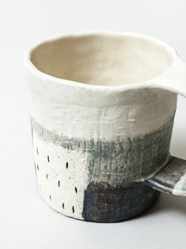 Ceramic City Mug - rikumo japan made