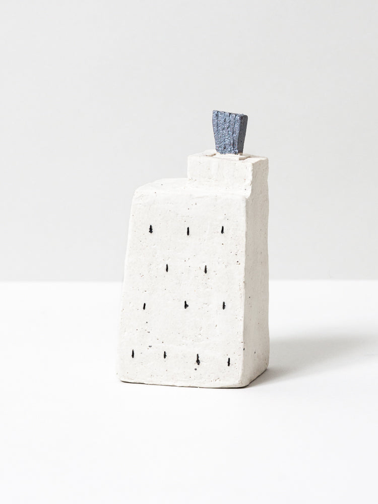 Ceramic Skyline Bud Vase - No. 11
