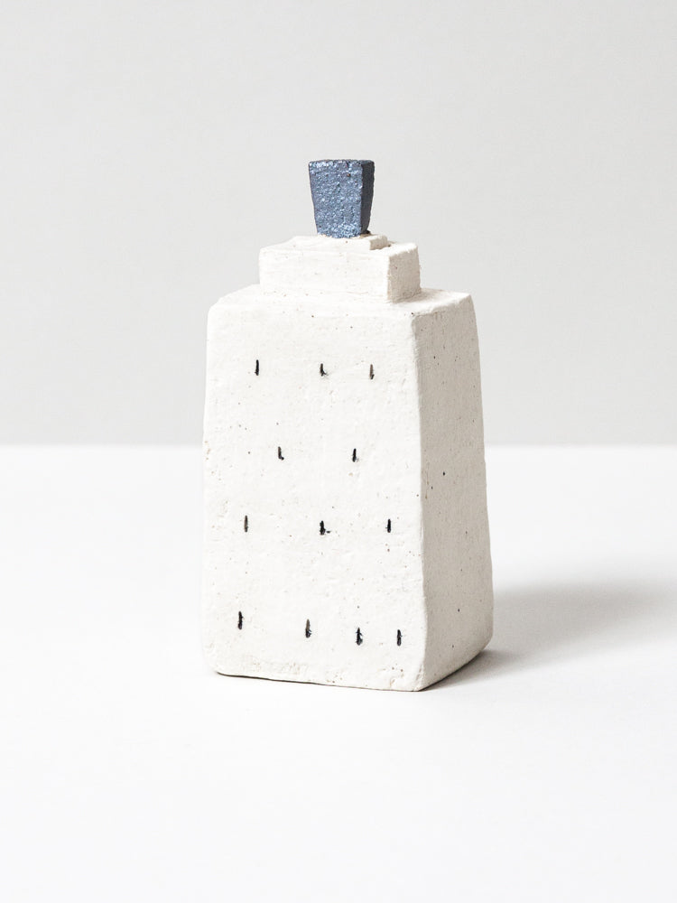 Ceramic Skyline Bud Vase - No. 7