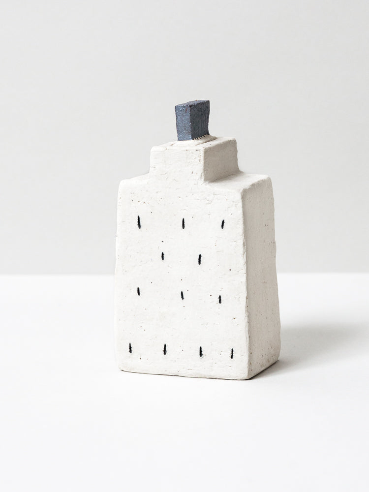 Ceramic Skyline Bud Vase - No. 9