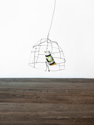 Wire Bird Mobile - rikumo japan made