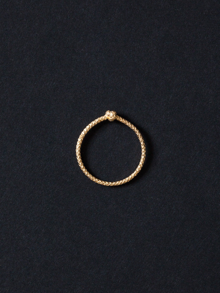 Tomoka Single Knot Ring - rikumo japan made