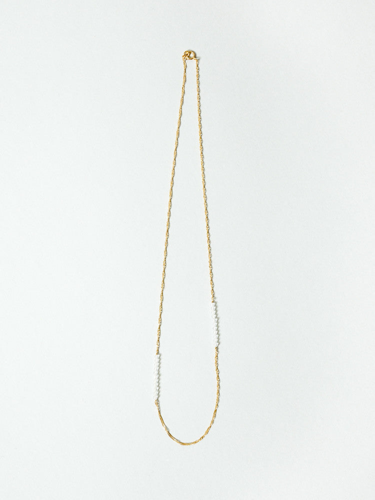 Tomoka Necklace - Crescent II