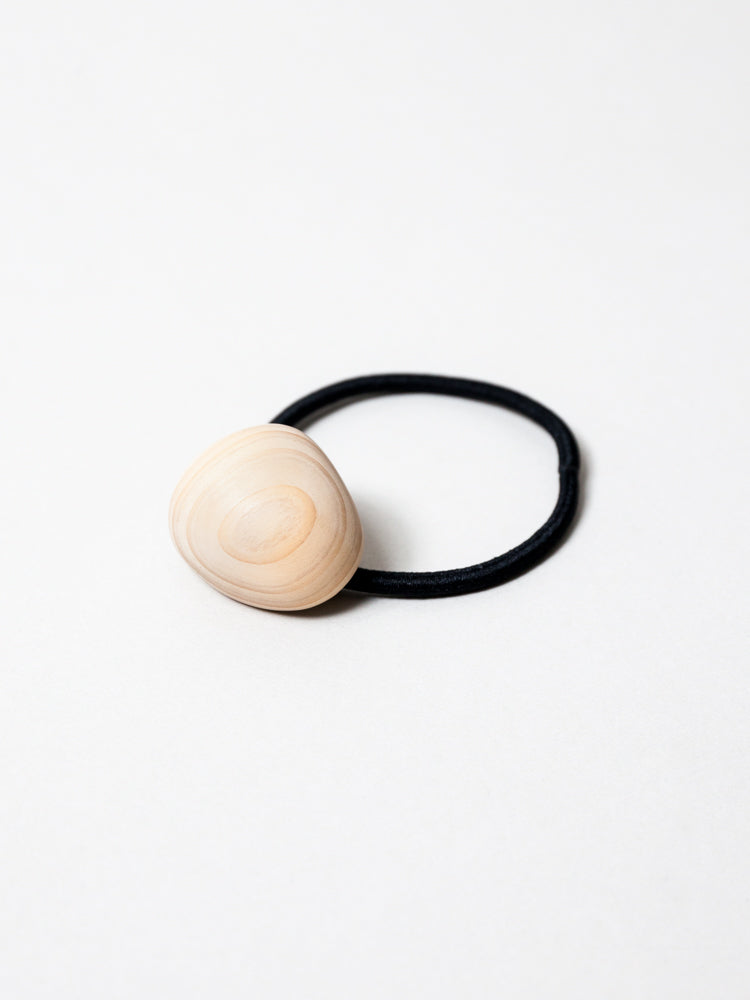 Wooden Gem Hair Accessory - Natural