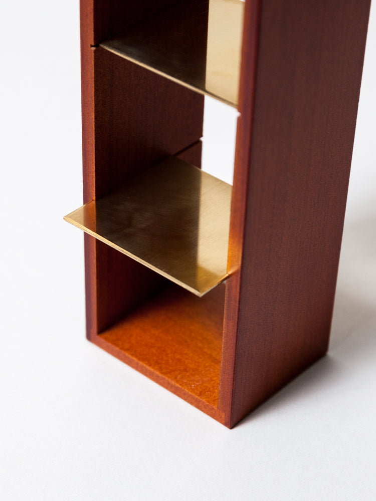 Wooden Display Box for 3 Sola Cubes