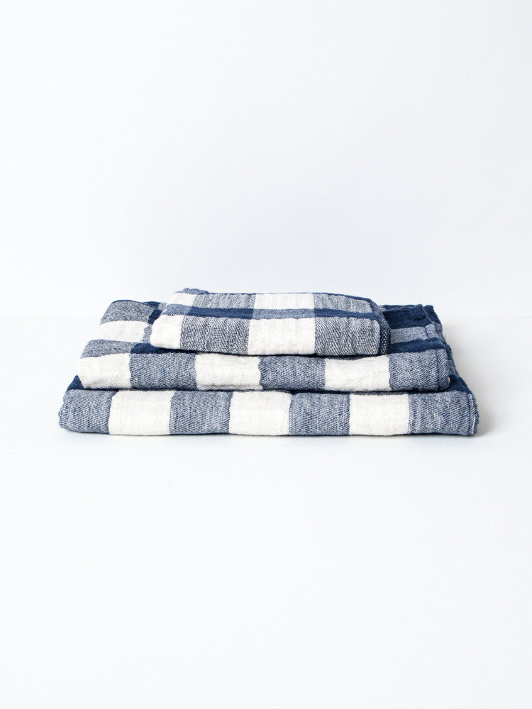 Vintage Check Towel - rikumo japan made