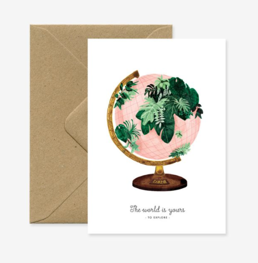 Greeting Card - World