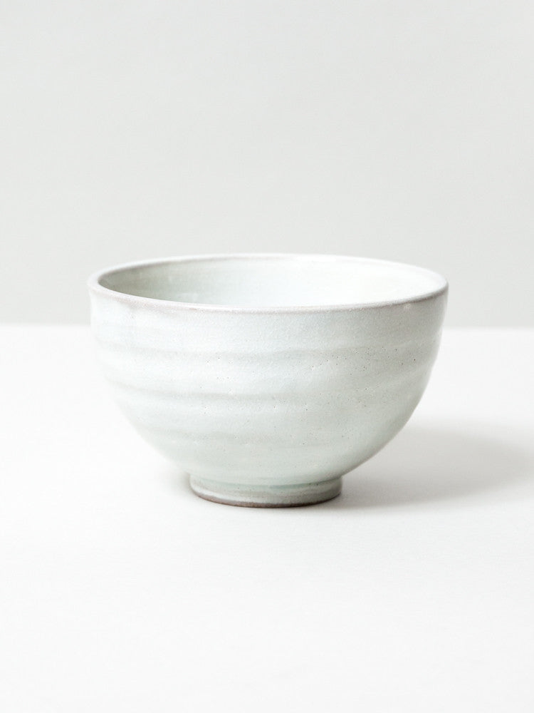 Creme Kohiki Matcha Bowl - rikumo japan made