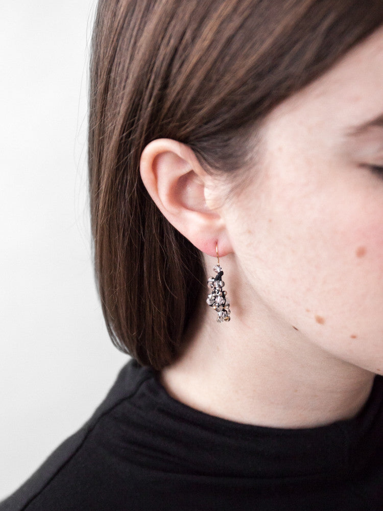 Yasuhide Cluster Earrings