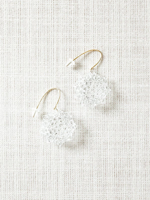 Glass Earrings - Toto - rikumo japan made