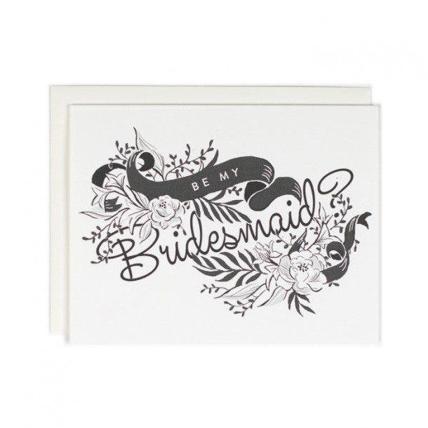 Greeting Card - Be my Bridesmaid - rikumo japan made