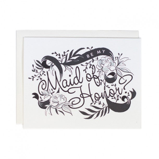 Greeting Card - Be my Maid of Honor - rikumo japan made